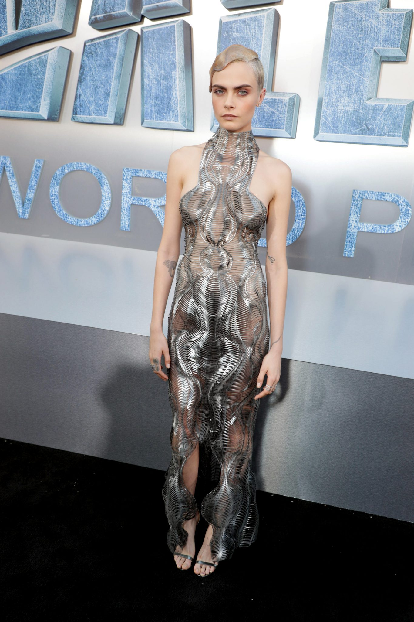 Wardrobe Breakdown: Cara Delevingne At Valerian And The City Of A Thousand Planets World Premiere