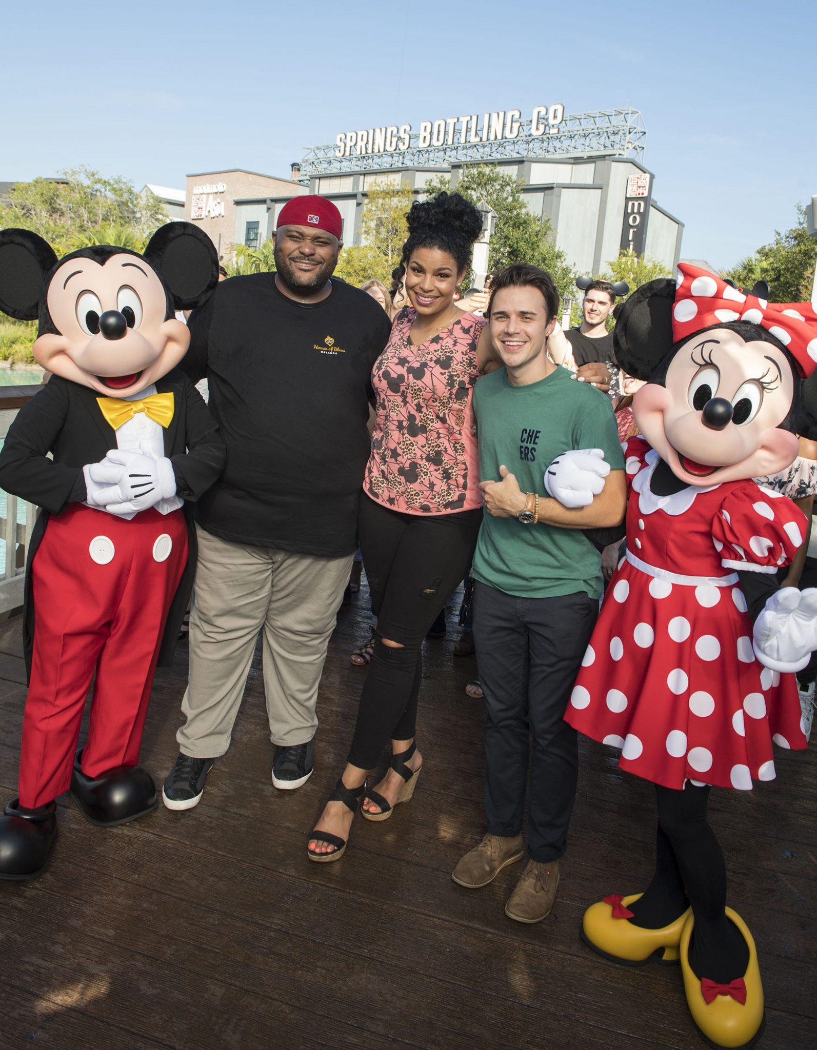 Jordin Sparks, Ruben Studdard And Kris Allen Kick Off American Idol Auditions At Walt Disney World
