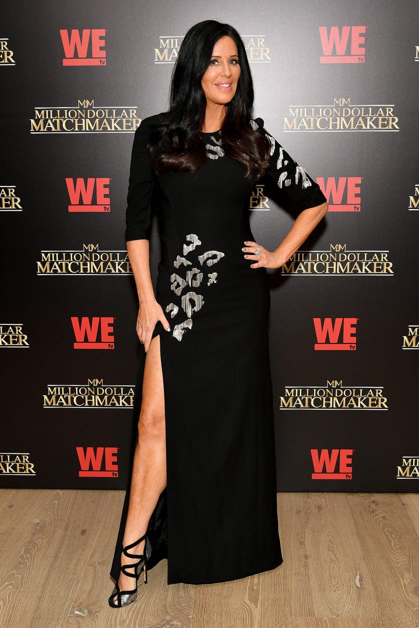 Wardrobe Breakdown: Patti Stanger At Season 2 Premiere of MillionDollar Matchmaker