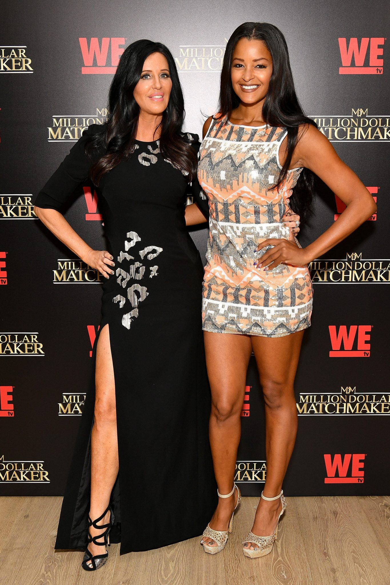 "Claudia Jordan Celebrates Season 2 of WE tv's ""Million Dollar Matchmaker"" With Patti Stanger"