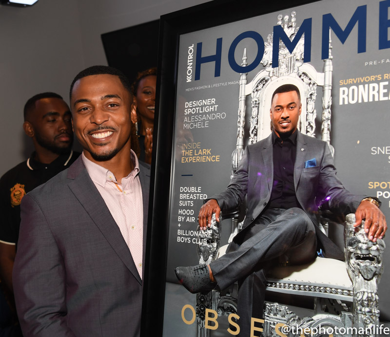 RonReaco Lee's Kontrol Magazine Cover Release Party