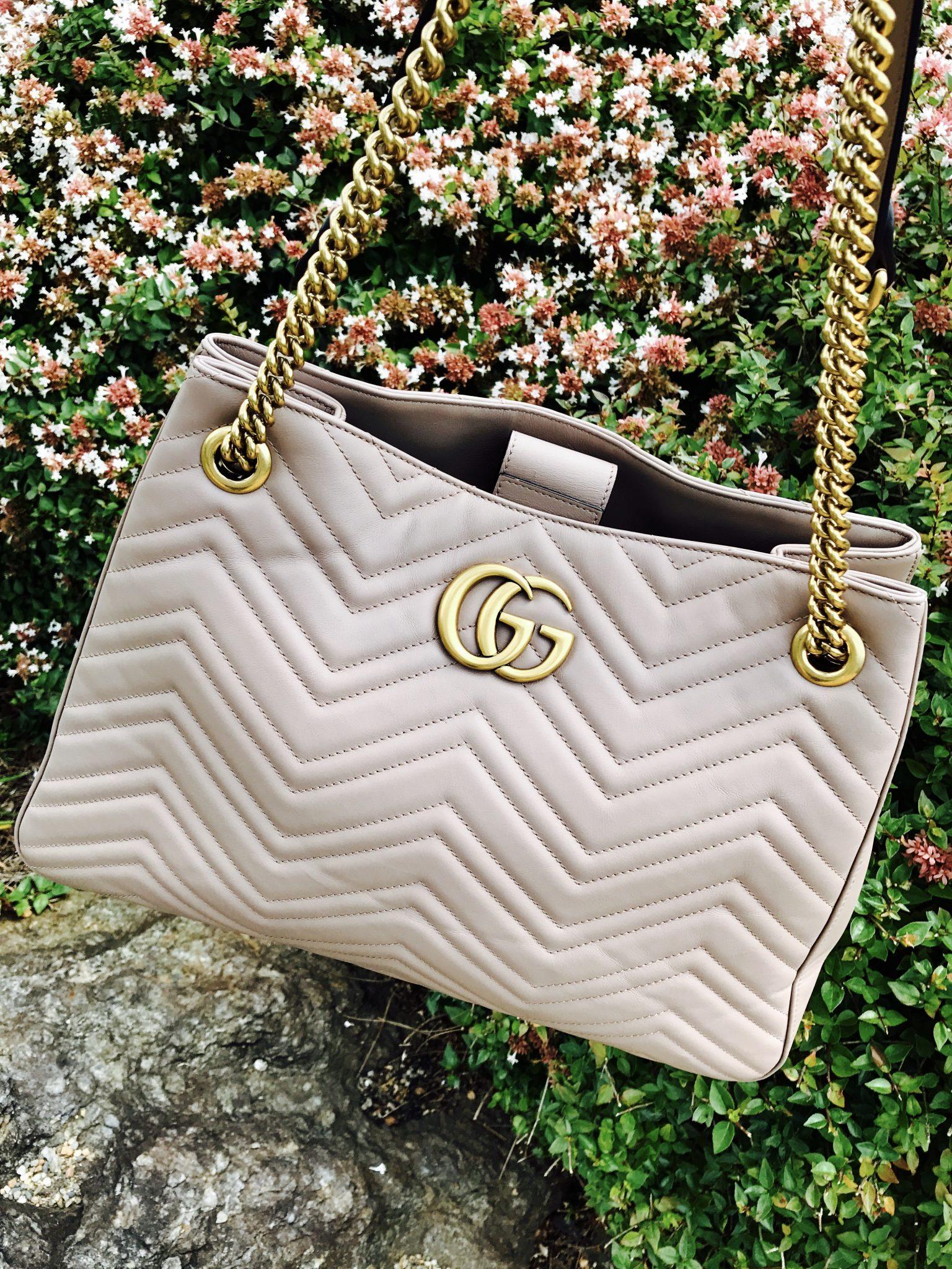 What's In My Bag: GG Marmont Matelassé Shoulder Bag