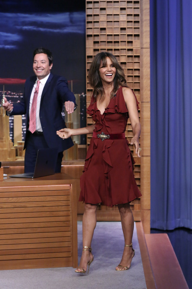 Wardrobe Breakdown: Halle Berry On The Tonight Show With Jimmy Fallon