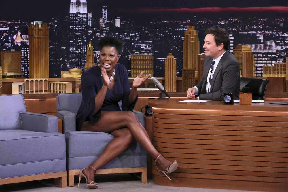 In Case You Missed It: Leslie Jones On The Tonight Show Starring Jimmy Fallon