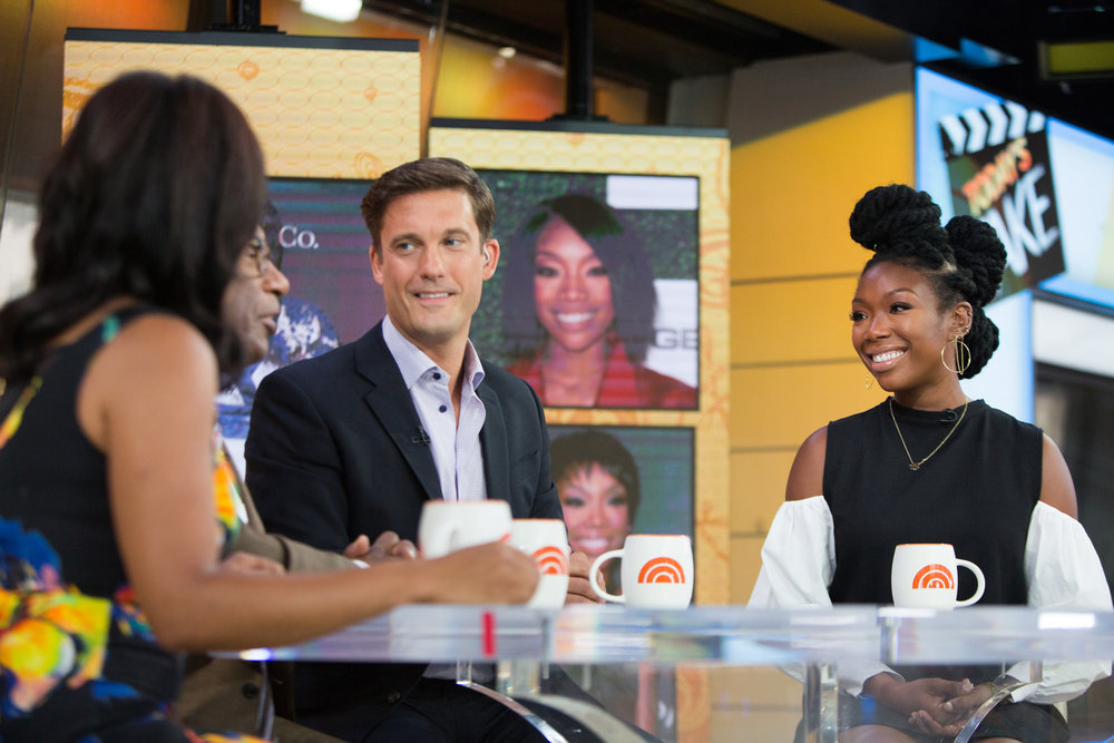 In Case You Missed It: Brandy On The Today Show