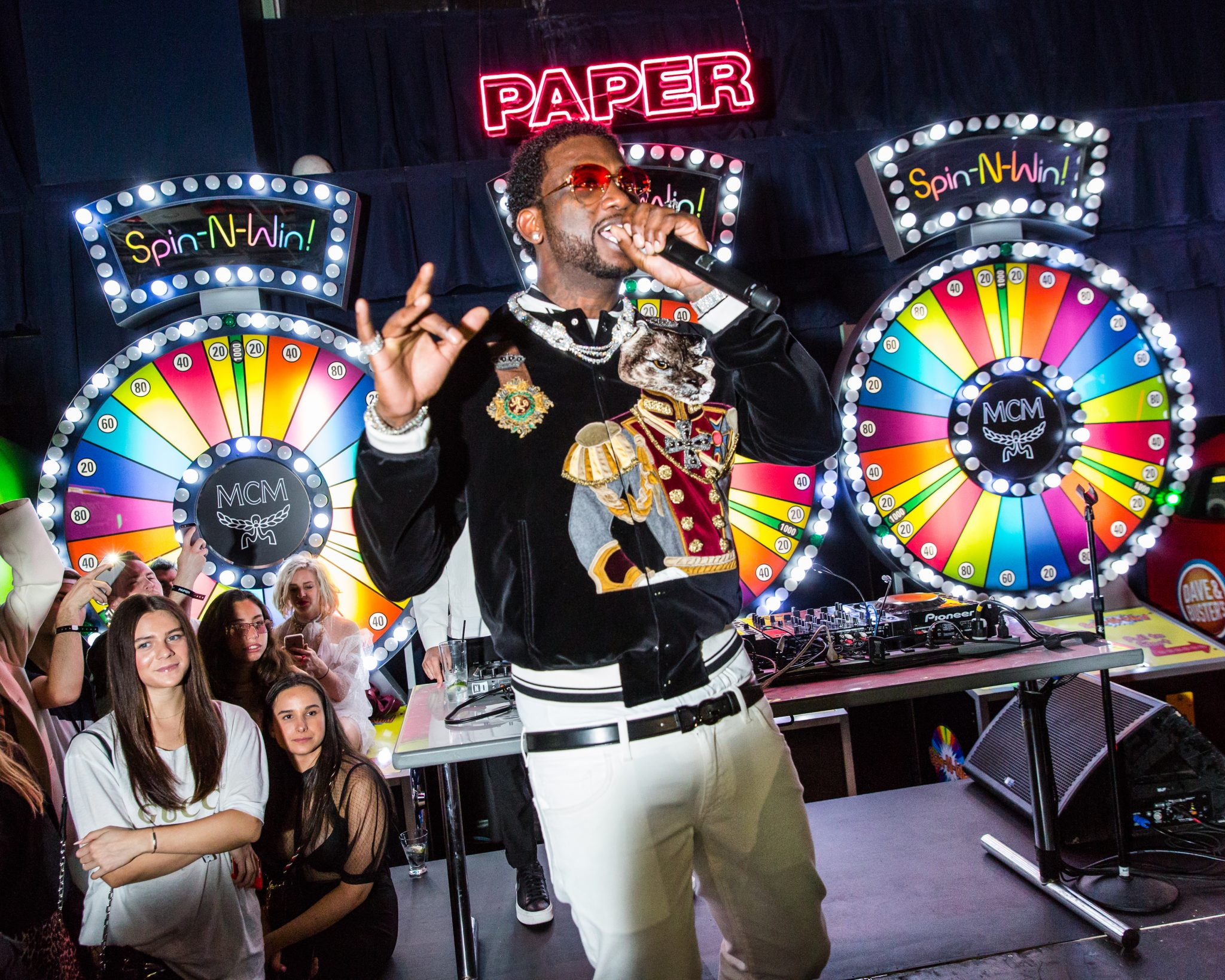 MCM x Gucci Mane NYFW Performance in Celebration of PAPER Magazine's Beautiful People Issue