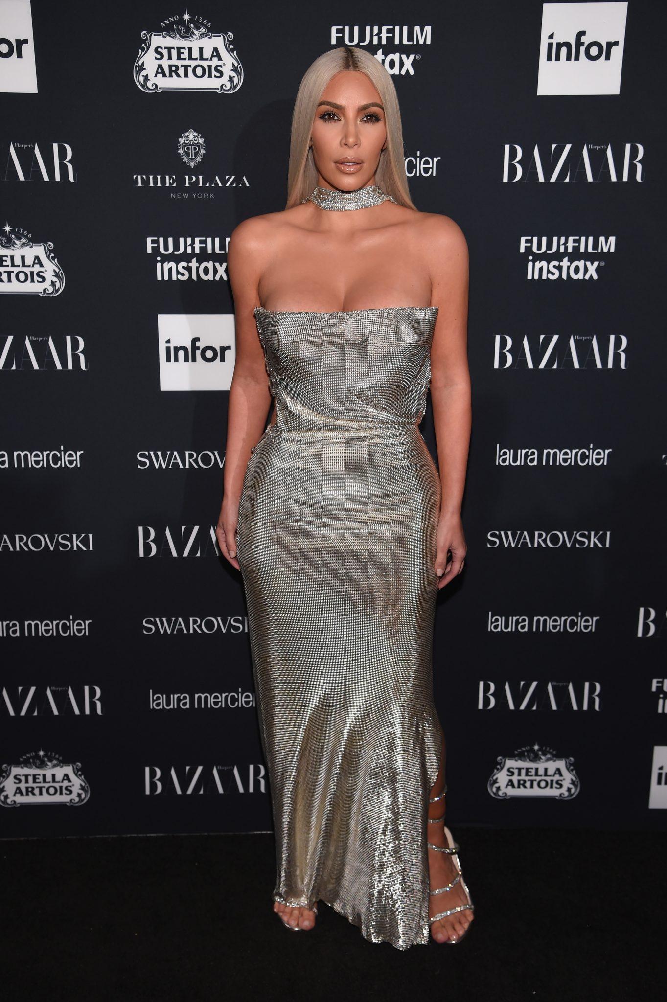 Wardrobe Breakdown: Kim Kardashian At The Harper's BAZAAR Icon Party