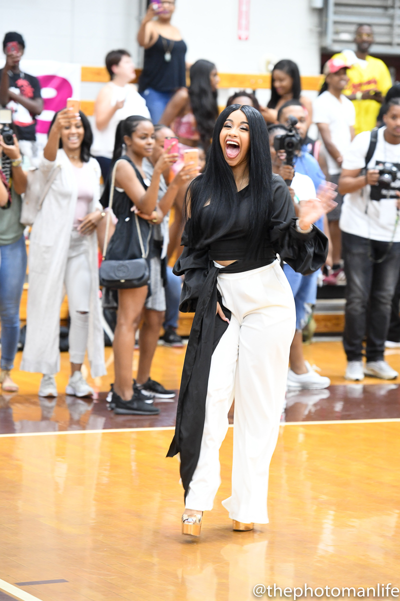 Cardi B Stops By Atlanta For Labor Day Weekend