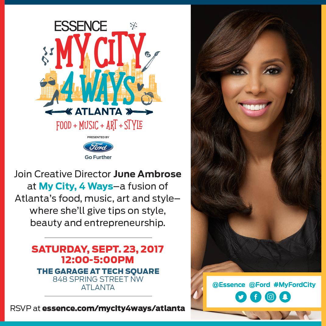 Essence My City 4 Ways Atlanta