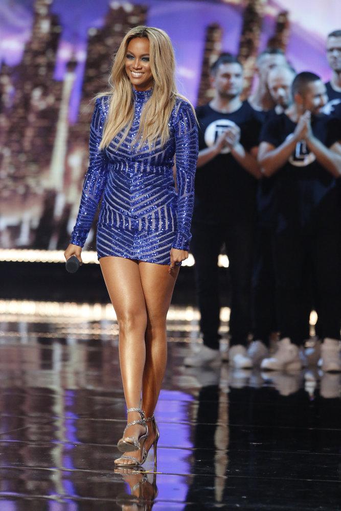 Wardrobe Breakdown: Tyra Banks On America's Got Talent