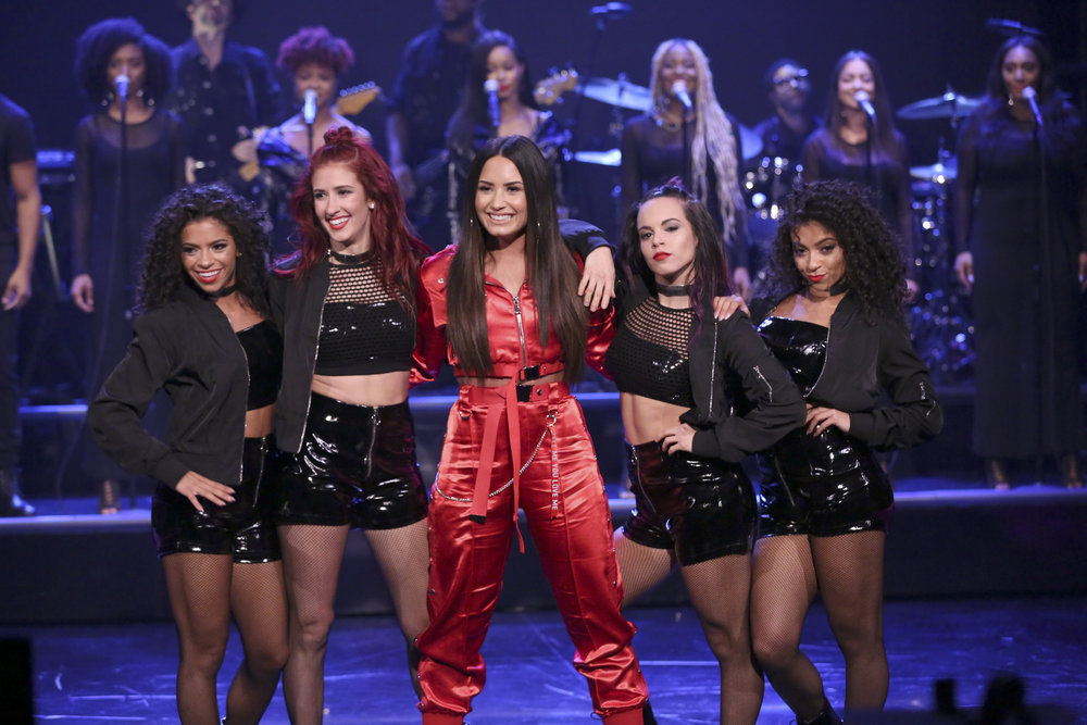 In Case You Missed It: Demi Lovato On The Tonight Show Starring Jimmy Fallon
