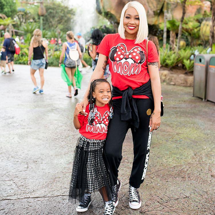 Wardrobe Breakdown: Monica & Laiyah Brown At Disney