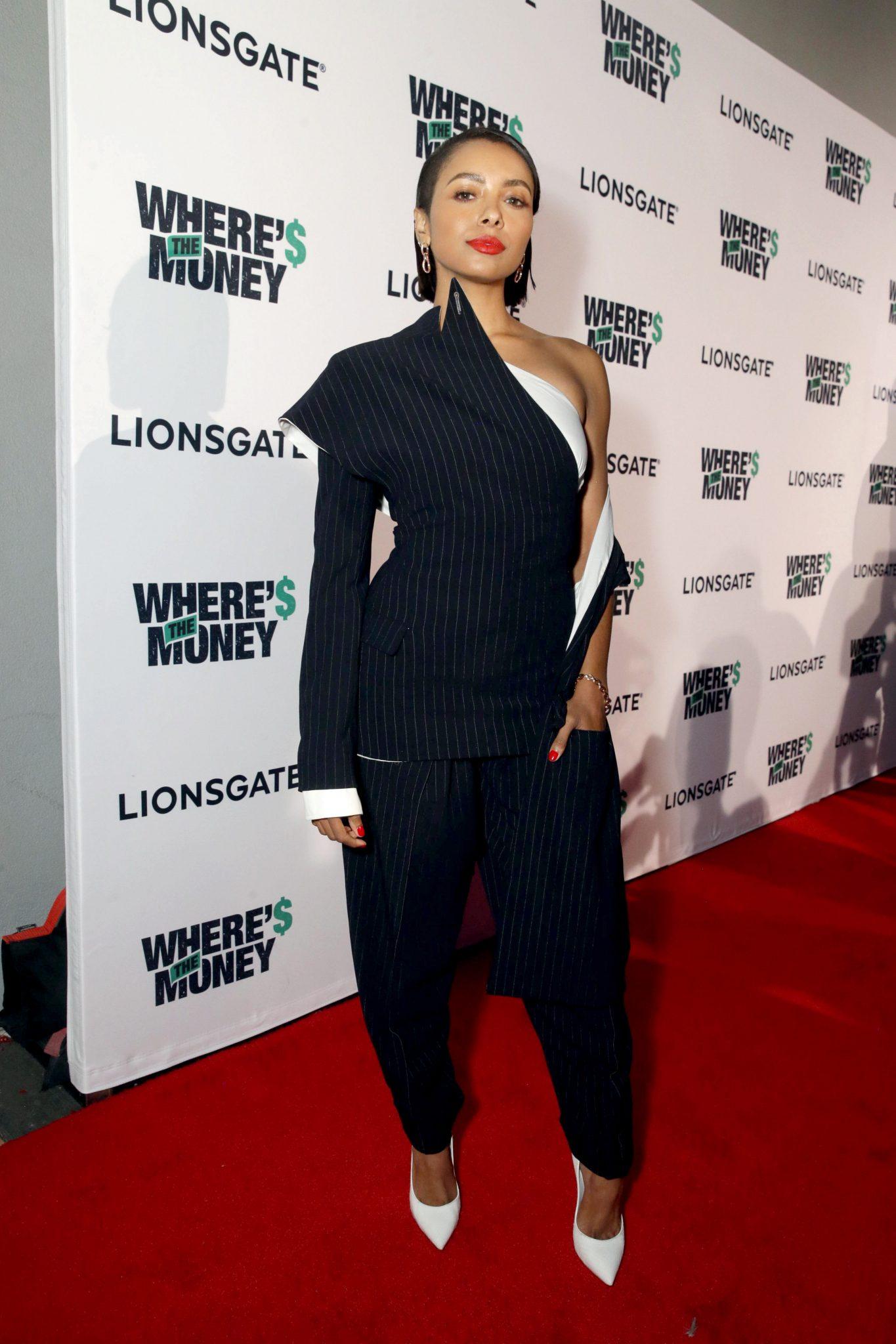 Wardrobe Breakdown: Kat Graham At Where's The Money Premiere