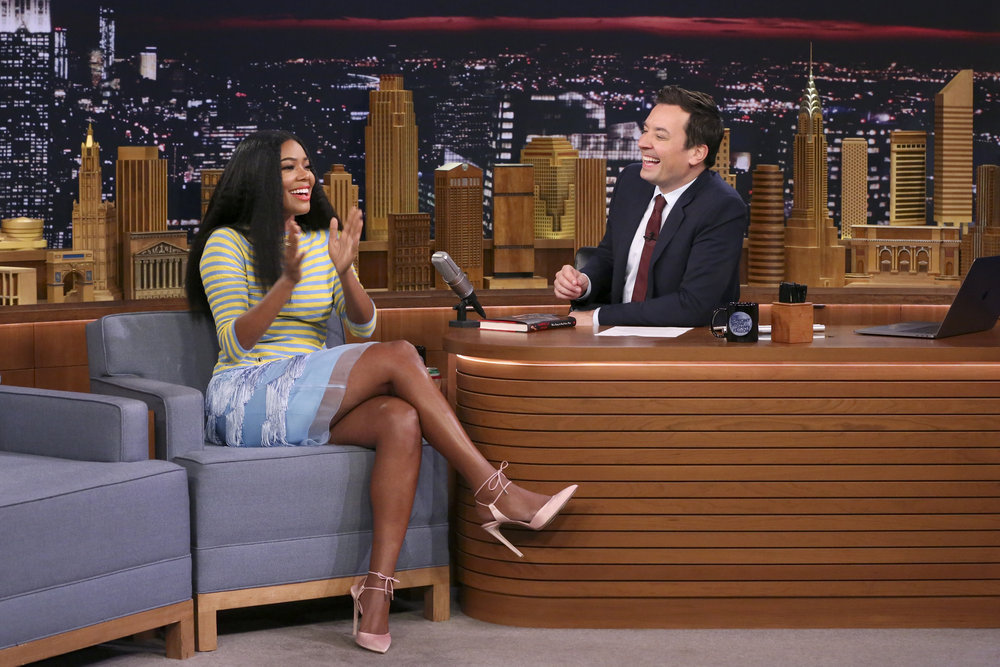 In Case You Missed It: Gabrielle Union On The Tonight Show Starring Jimmy Fallon