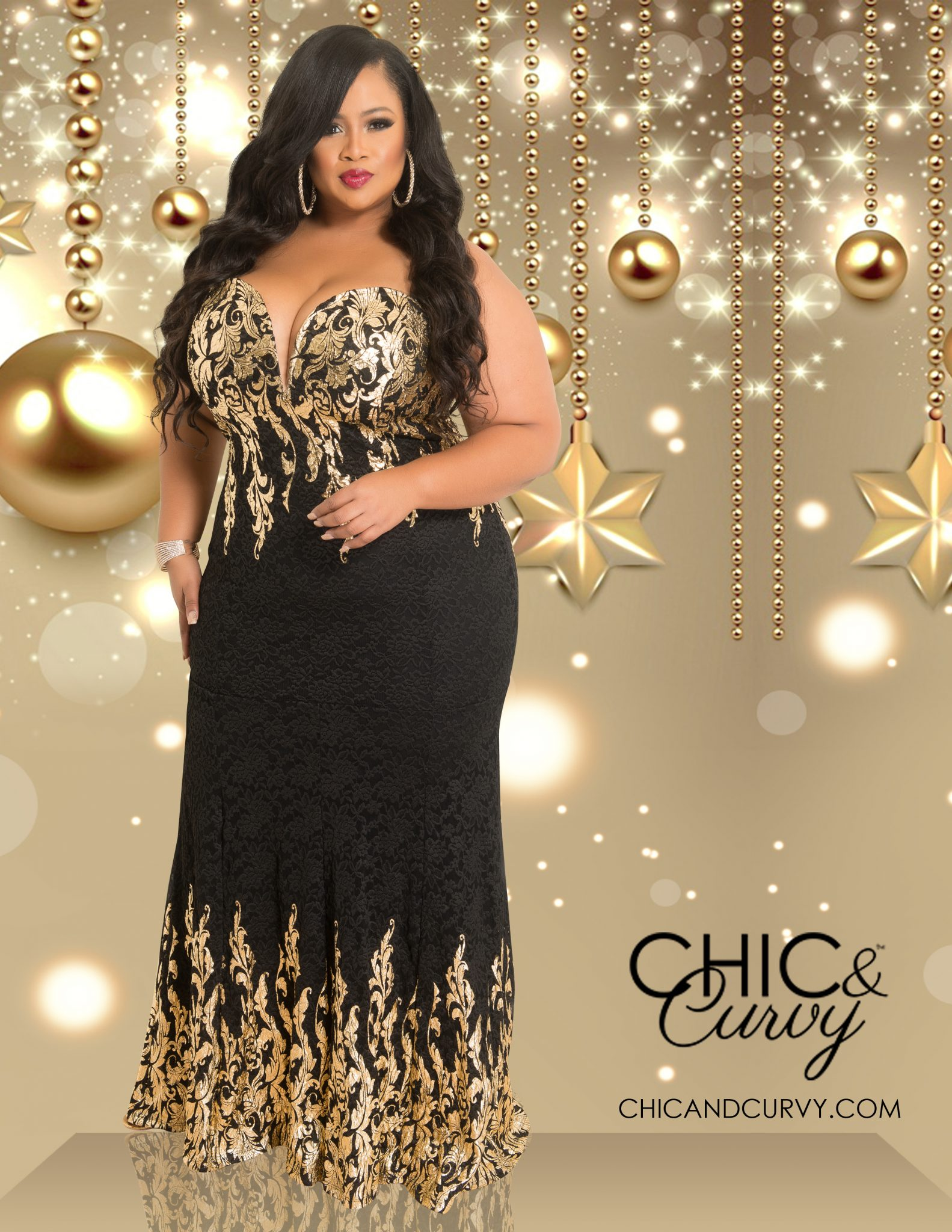 Lookbook: Chic And Curvy Holiday