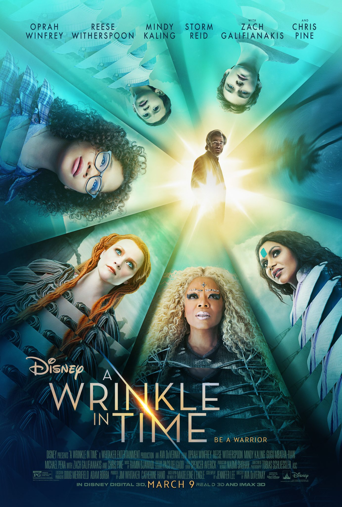 New Movie: A Wrinkle In Time (New Poster & Trailer)