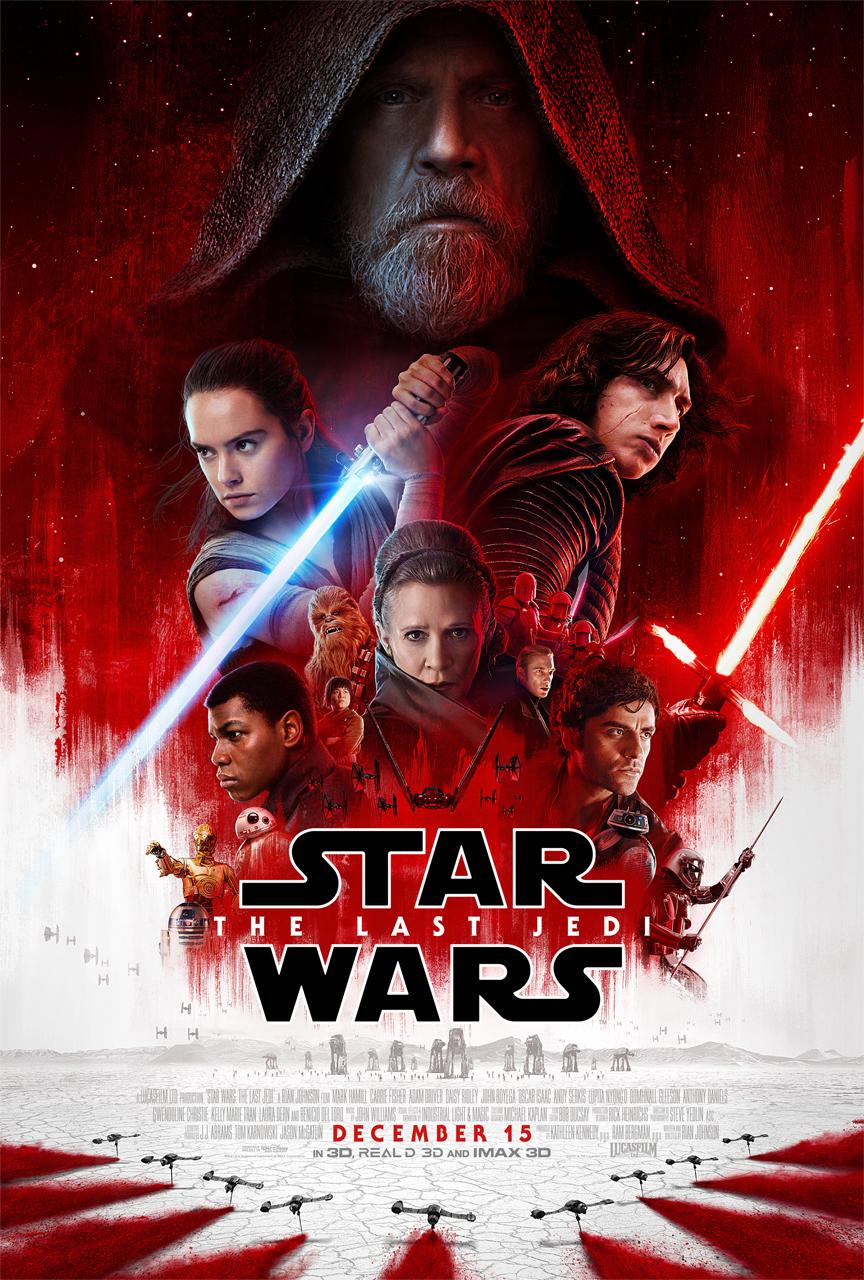 STAR WARS: THE LAST JEDI New Trailer & Poster