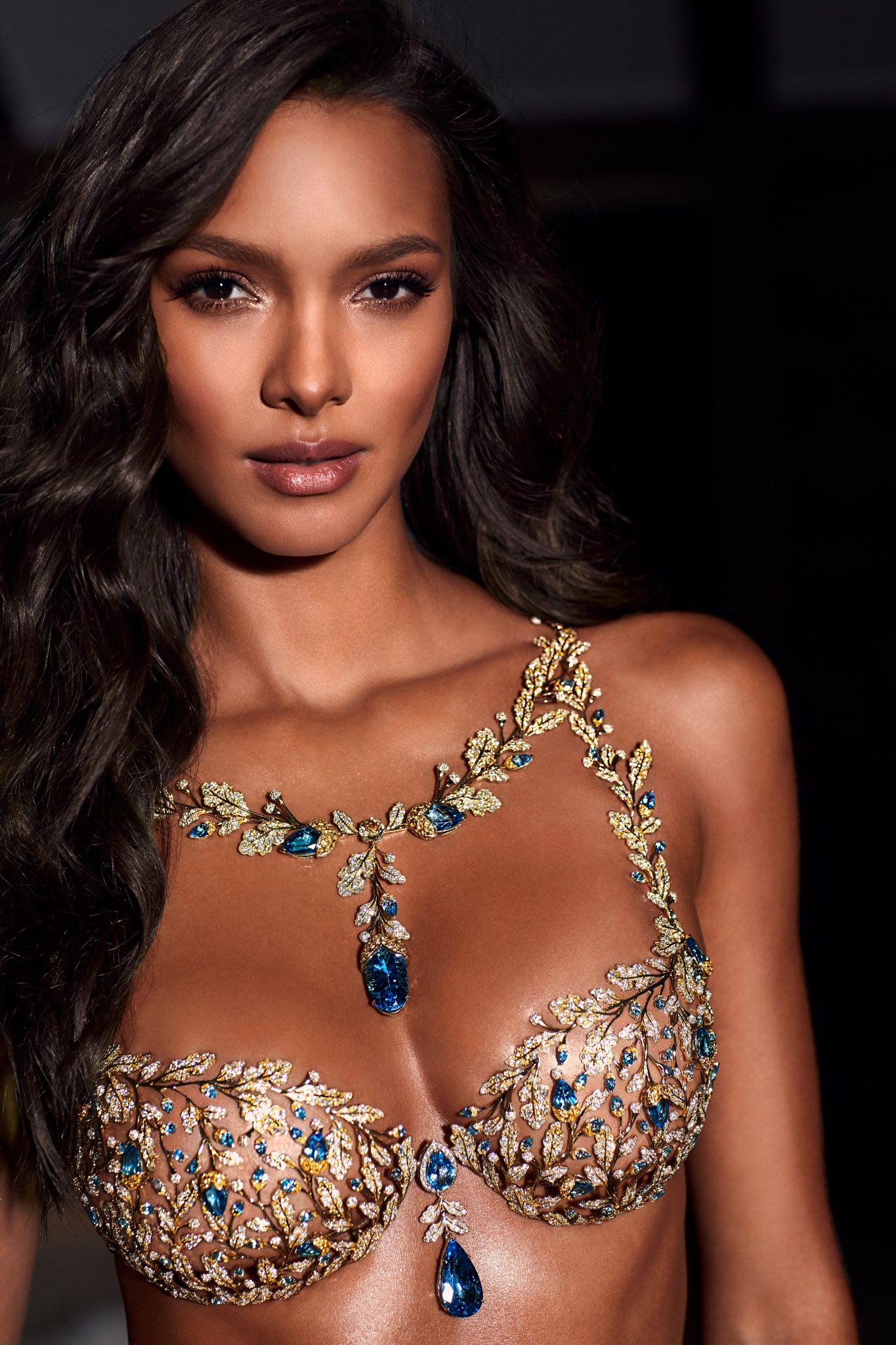 Angel Lais Ribeiro To Wear The $2 Million Champagne Nights Fantasy Bra