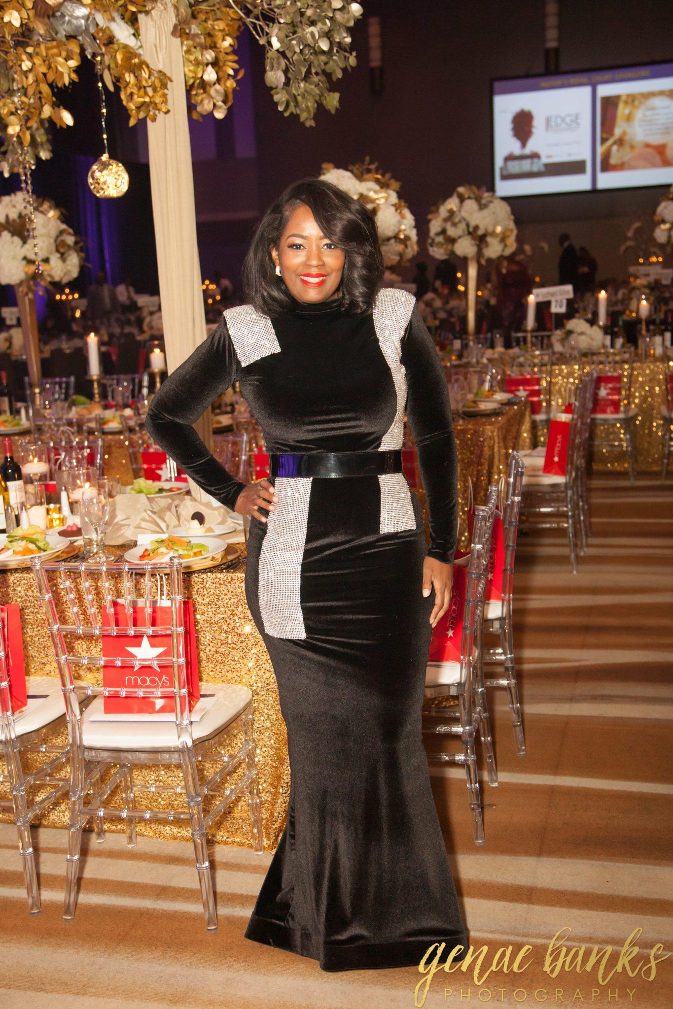 My Style: House Of Chapple Custom Velvet Gown