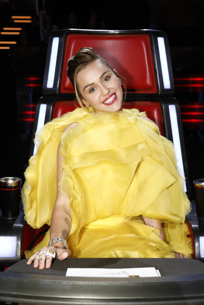 Wardrobe Breakdown: Miley Cyrus On The Voice