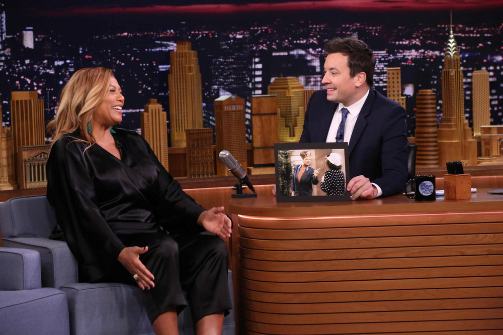 In Case You Missed It: Queen Latifah On The Tonight Show Starring Jimmy Fallon