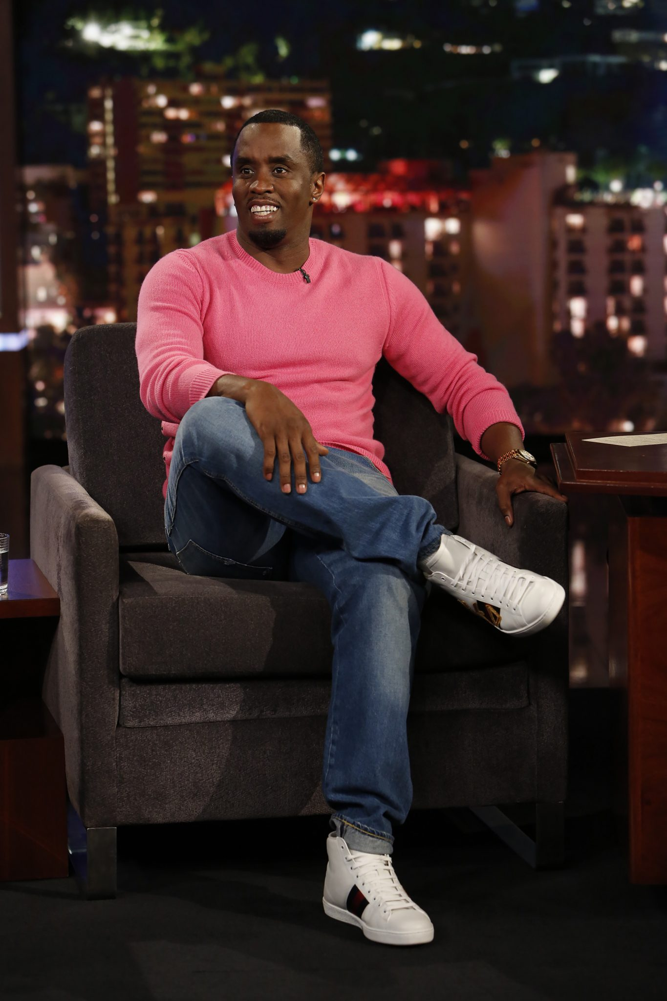 In Case You Missed It: Sean Diddy Combs On Jimmy Kimmel Live