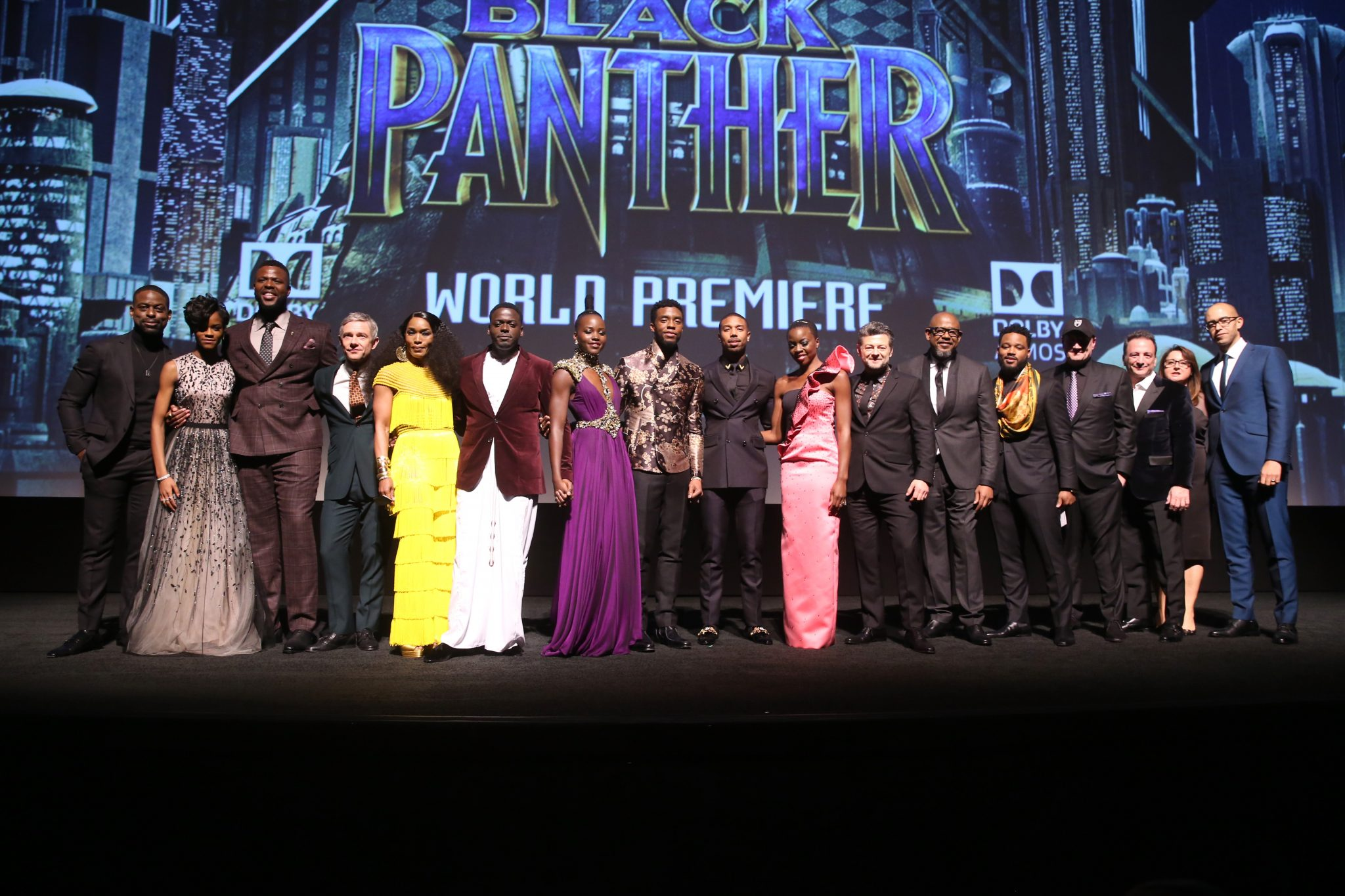 Red Carpet Arrivals: Black Panther World Premiere In Los Angeles