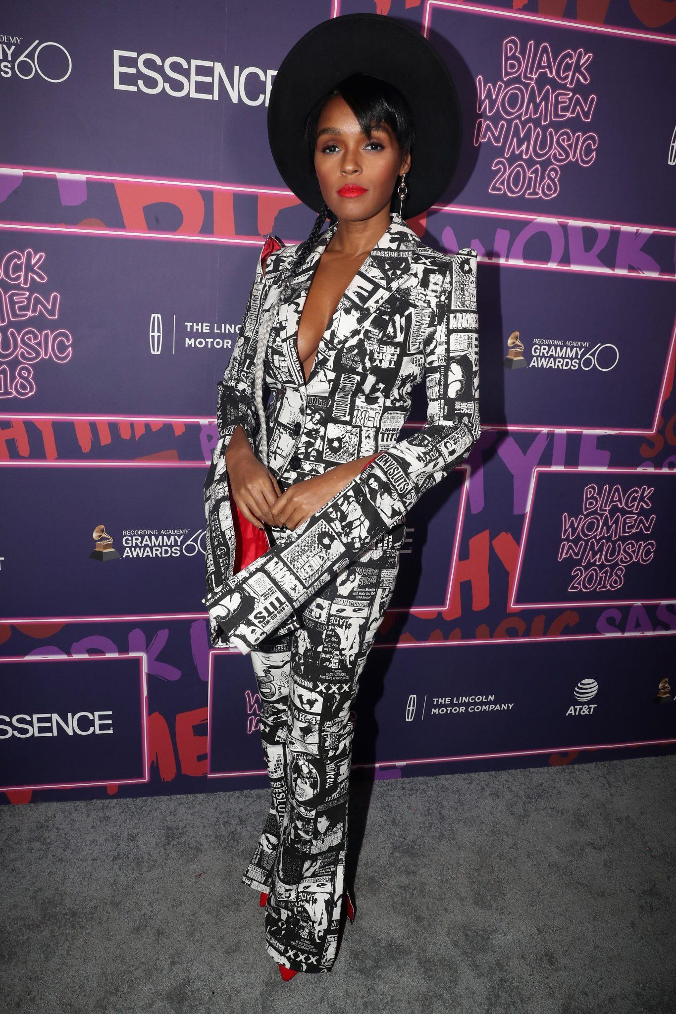 Wardrobe Breakdown: Janelle Monae At Essence Black Women In Music