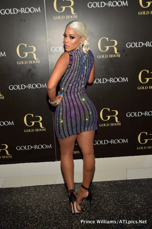 Wardrobe Breakdown: Keyshia Kaoir At The Gold Room