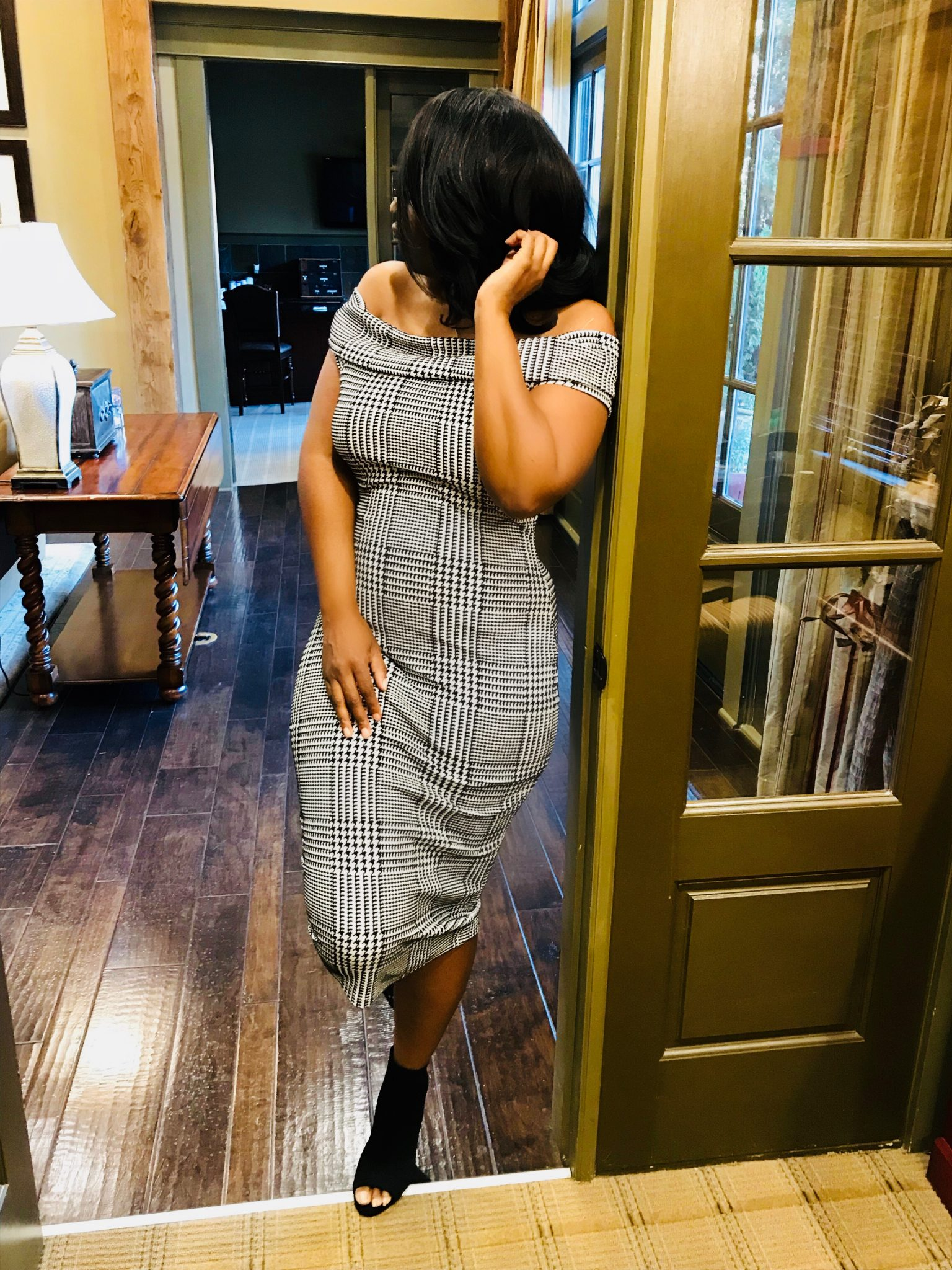 My Style: Classy Babe Off Shoulder Dress