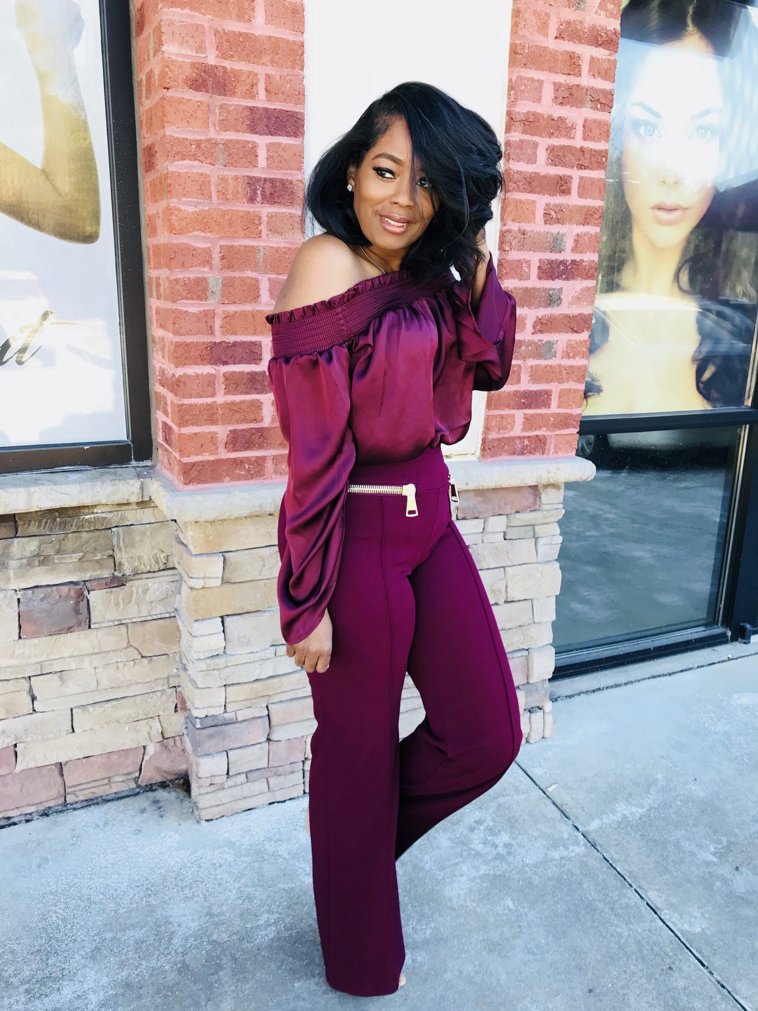 My Style: Over Sized Zipper Pants
