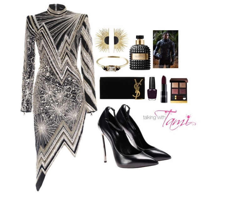 What To Wear: Black Panther Hollywood Premiere