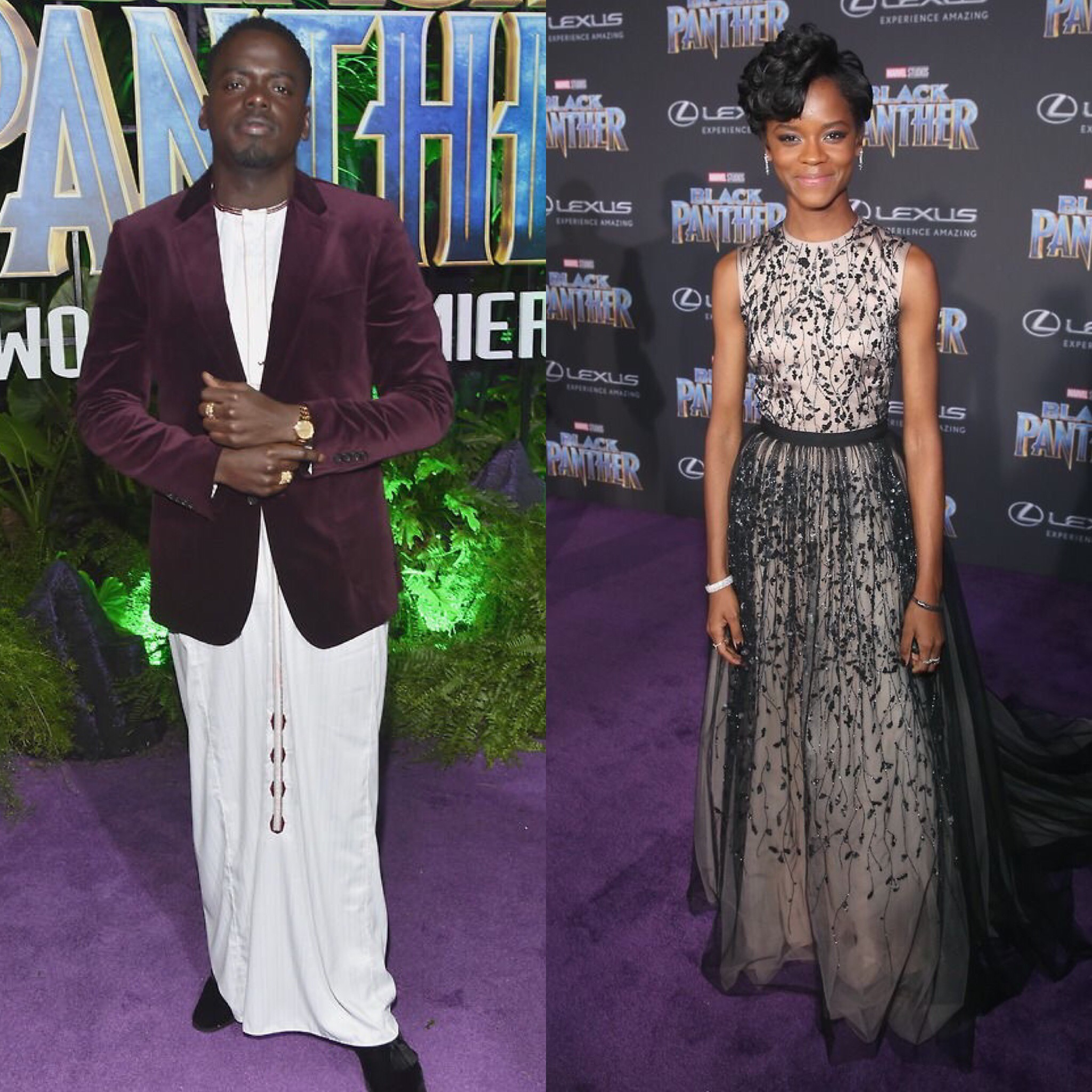 Round Table Discussion With Daniel Kaluuya & Letitia Wright From Black Panther