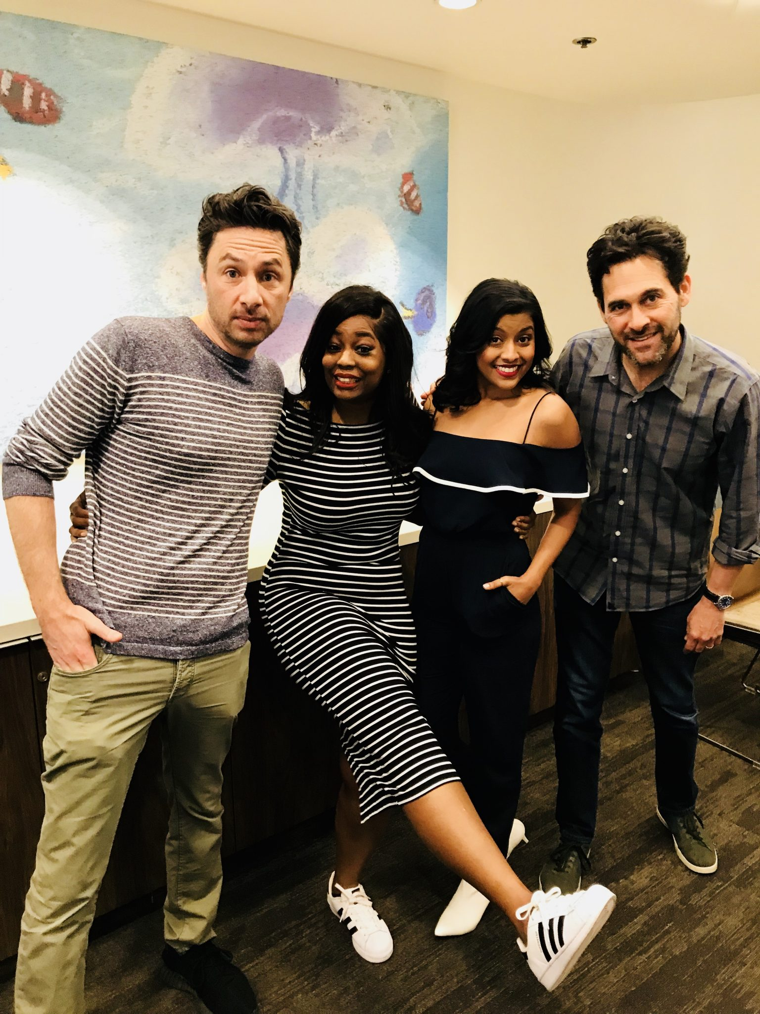 A Fun Sit Down With The Cast Of Alex Inc.