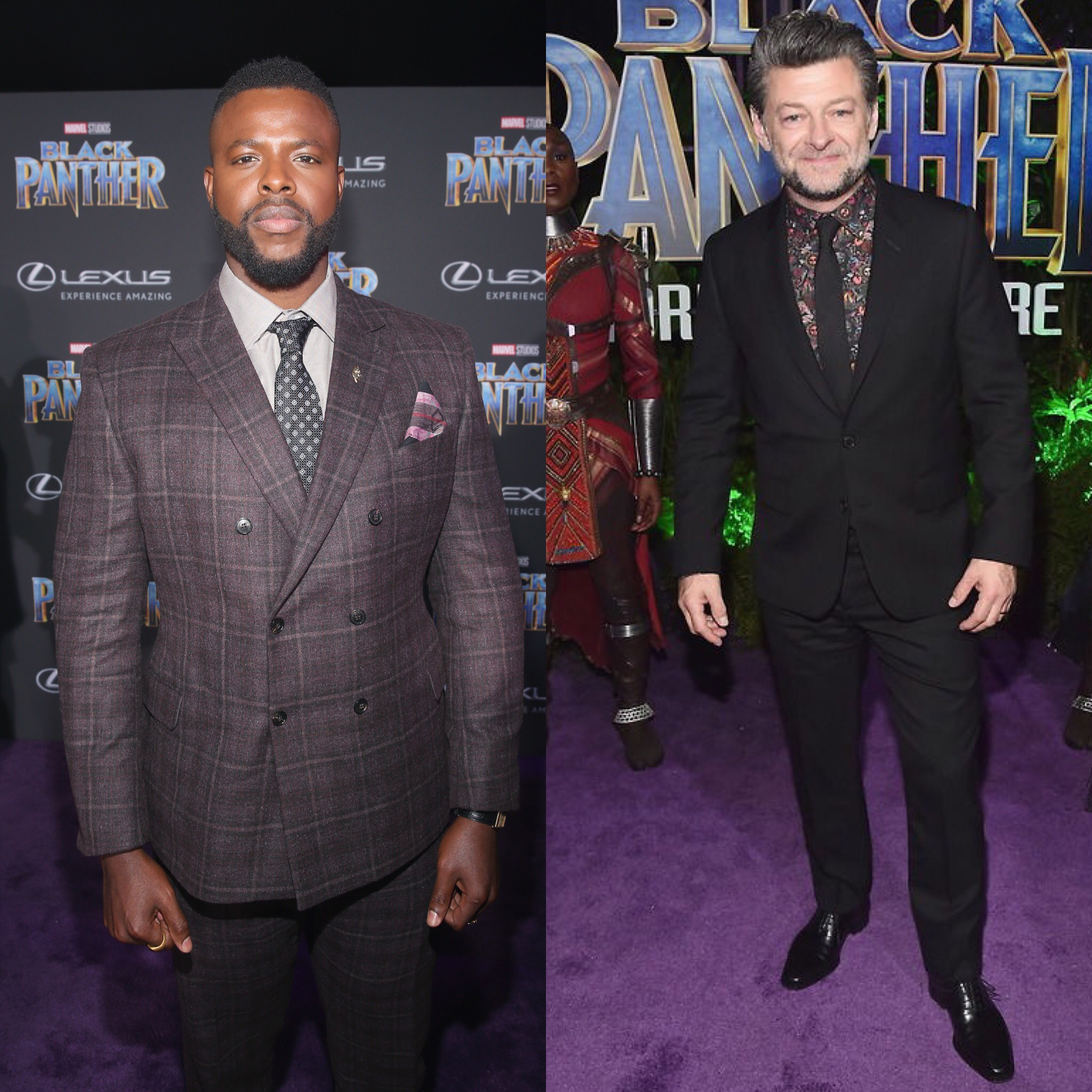 Round Table Discussion With Winston Duke & Andy Serkis From Black Panther