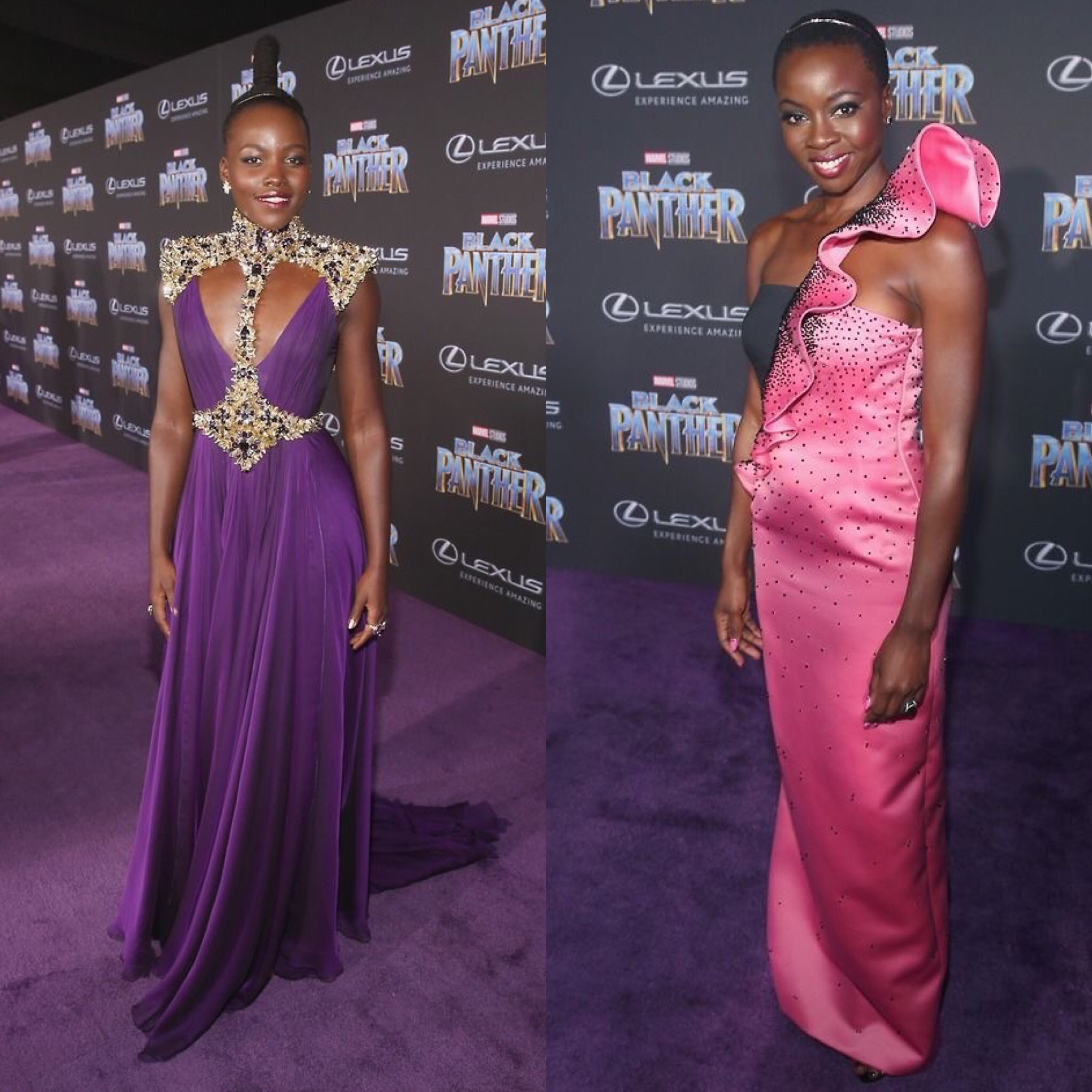 Round Table Discussion With Lupita Nyong'o & Danai Gurira From Black Panther