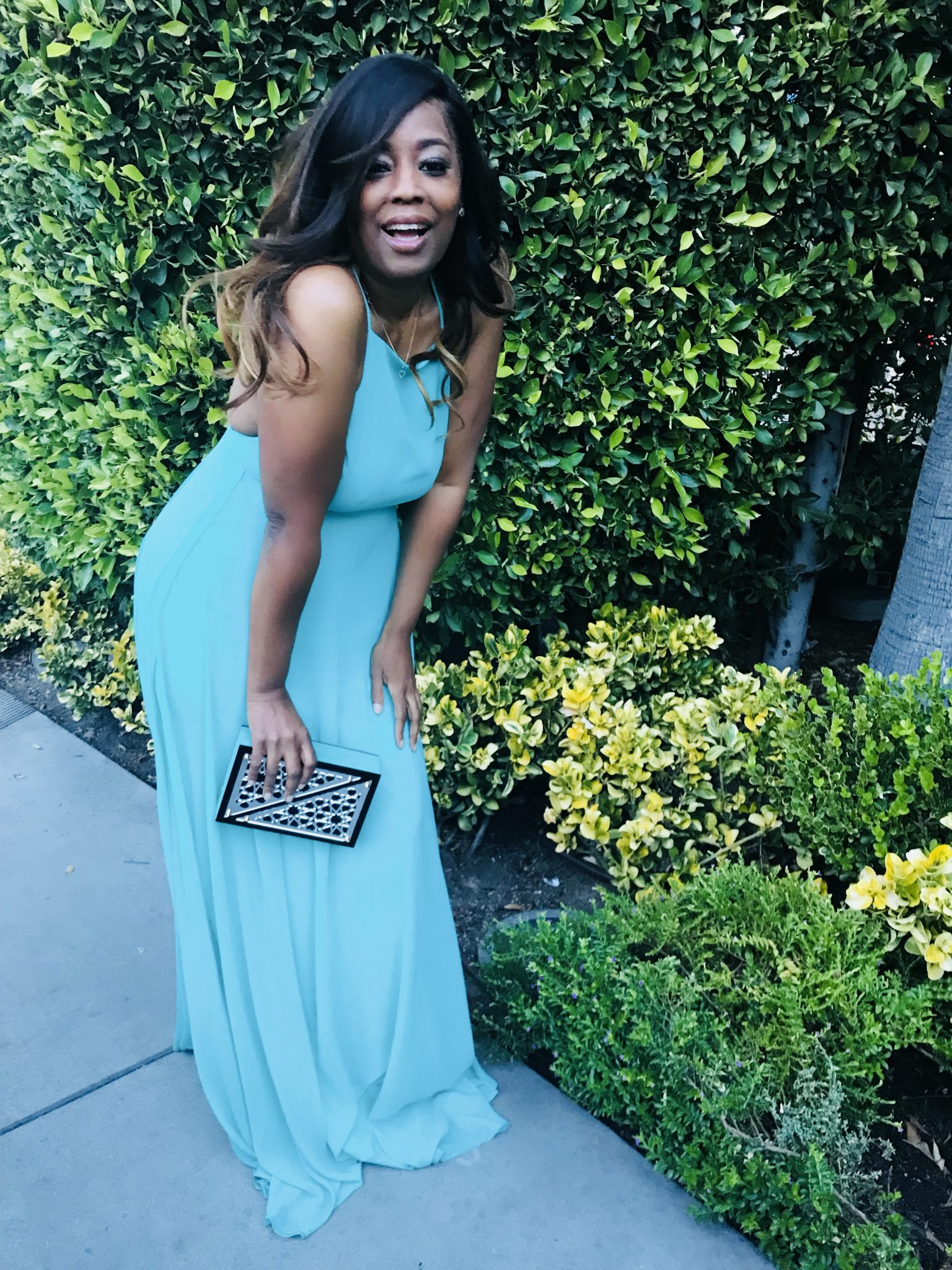 My Style: Classic High Neck Gown