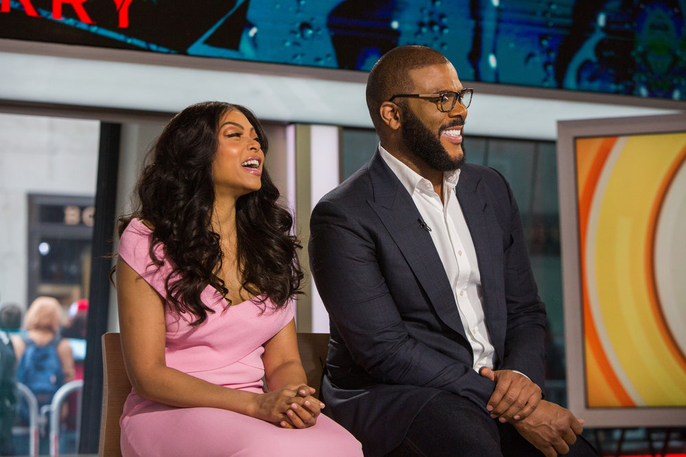 In Case You Missed It: Tyler Perry and Taraji P. Henson On The Today Show