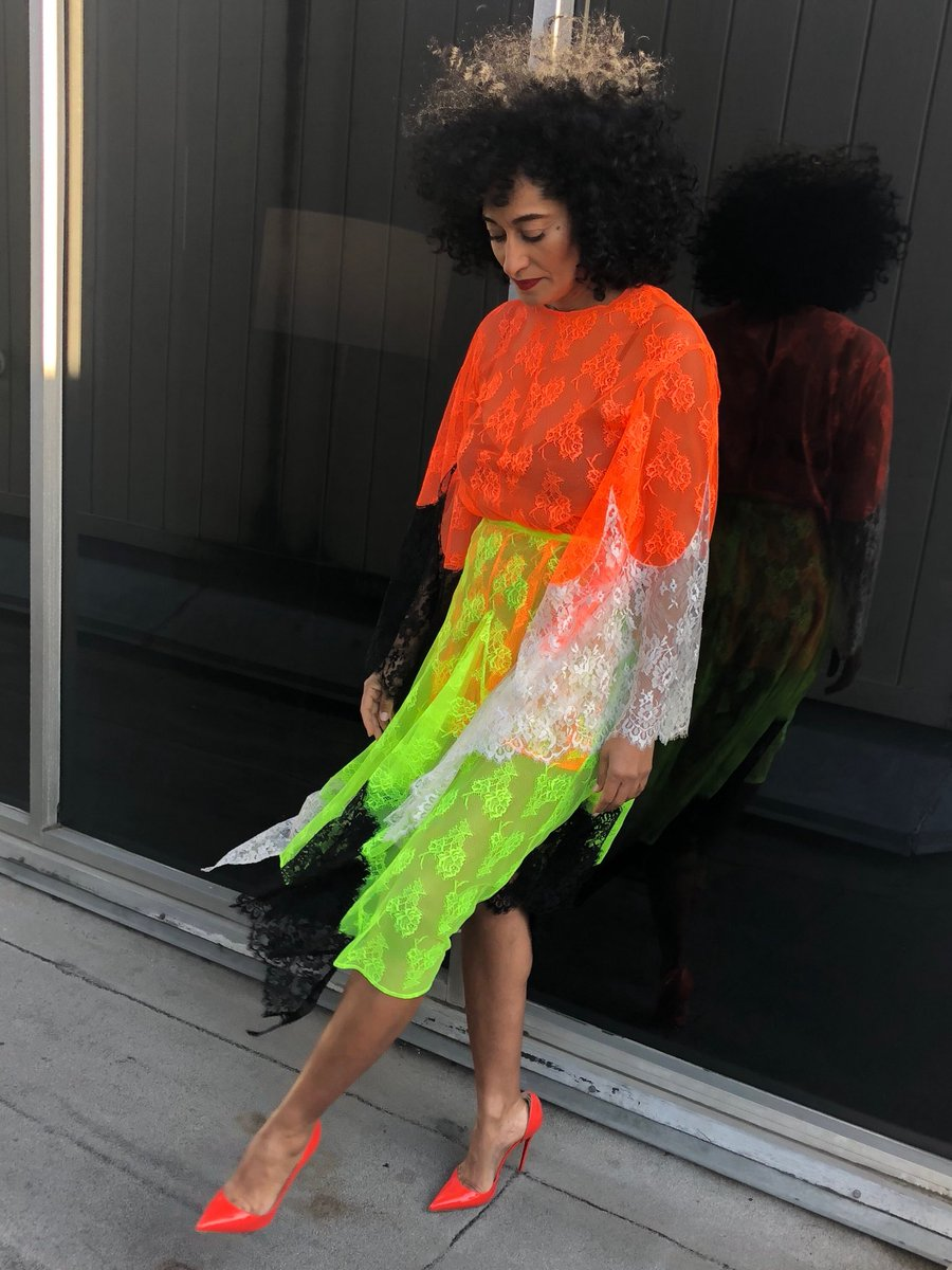 Wardrobe Breakdown: Tracee Ellis Ross On The Late Late Show With James Corden
