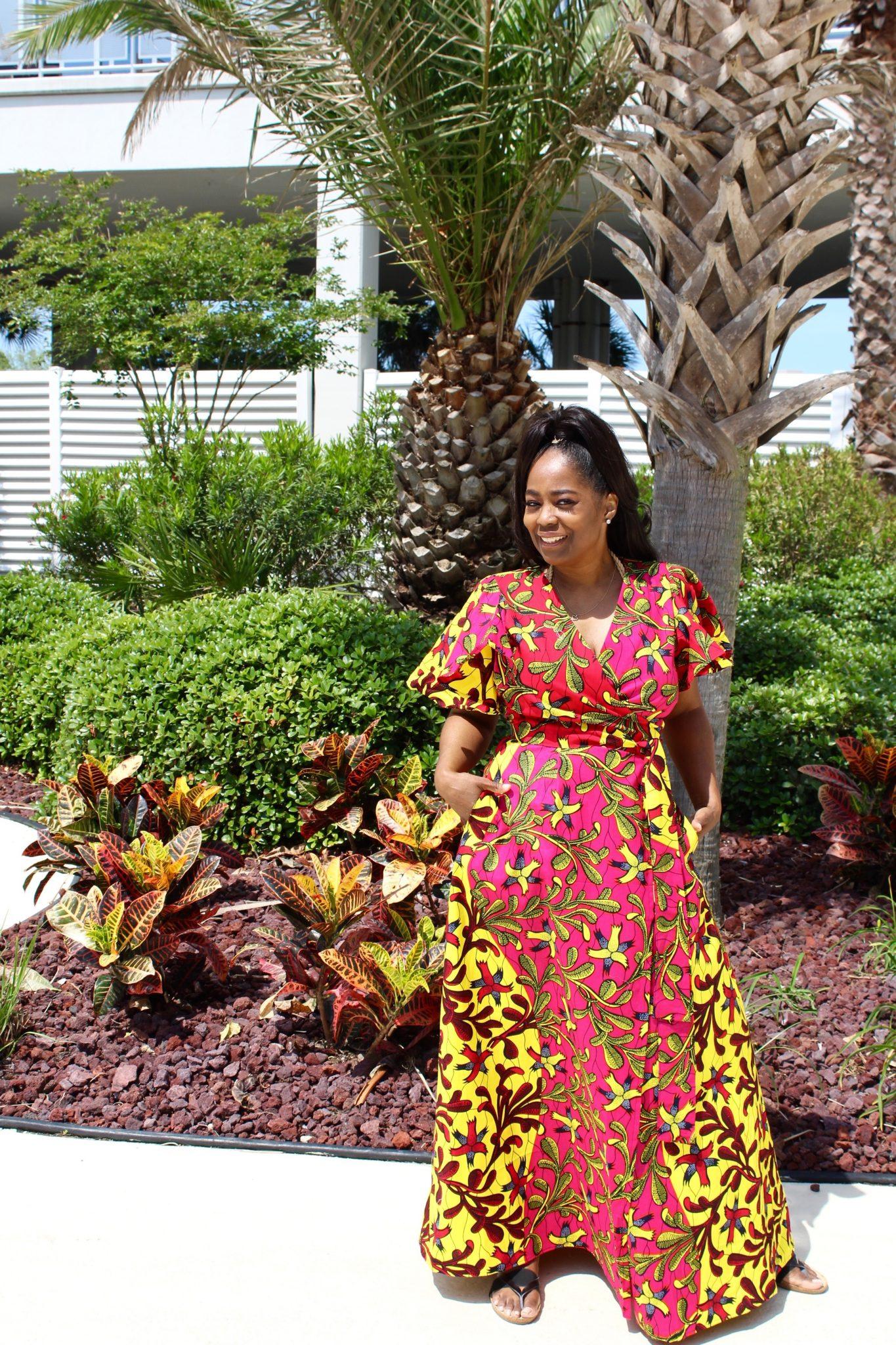 My Style: Suakokobetty Dinah Wrap Dress