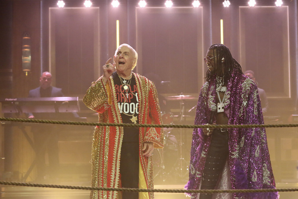 In Case You Missed It: Offset & Ric Flair On Jimmy Fallon