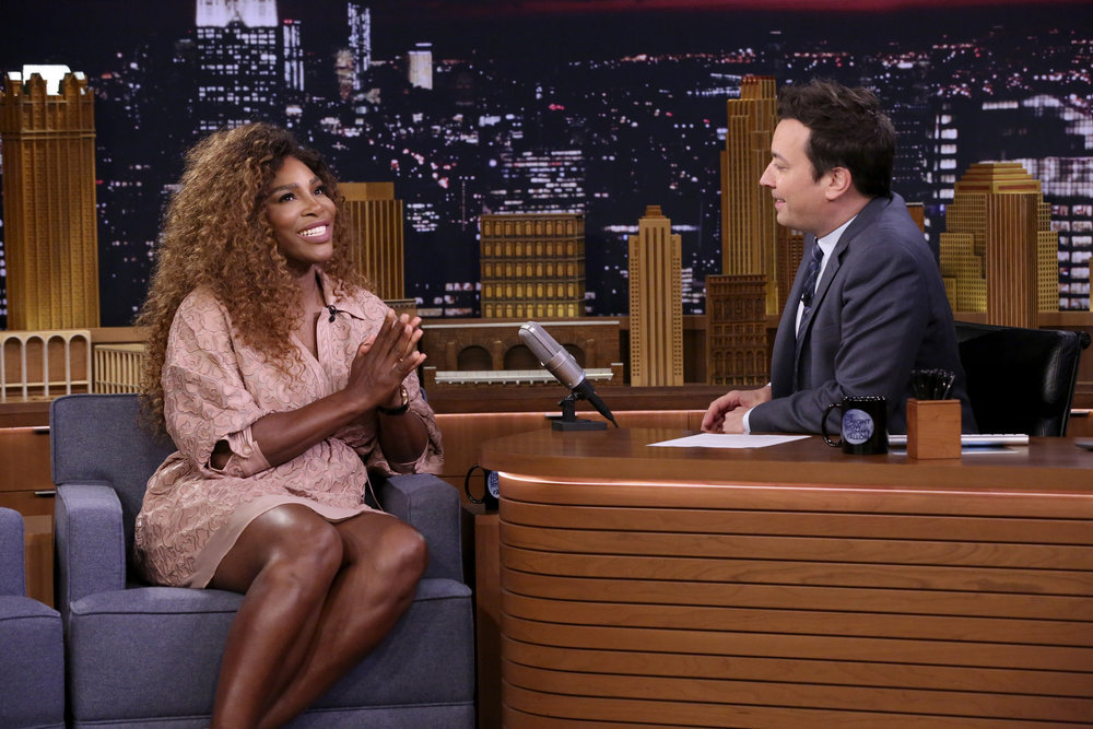 In Case You Missed It: Serena Williams On The Tonight Show Starring Jimmy Fallon