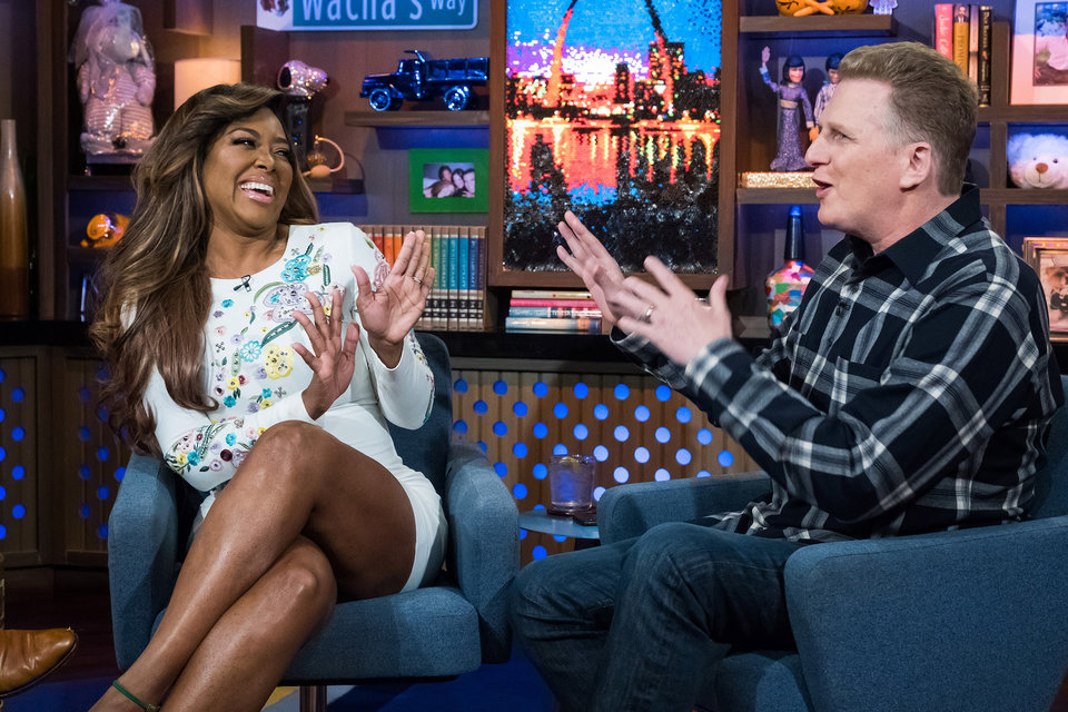 In Case You Missed It: Kenya Moore & Michael Rapaport On Watch What Happens Live
