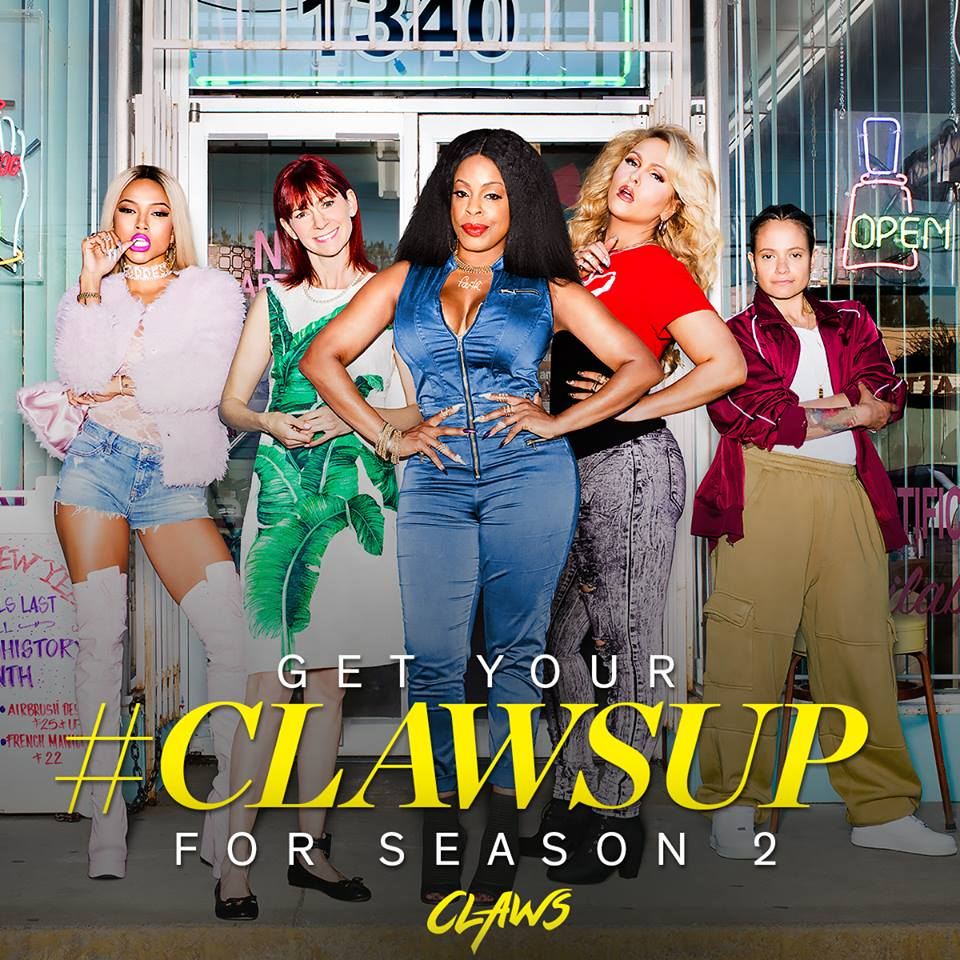 First Look: Claws Season 2, Memories Of When I Owned My Nail Salon