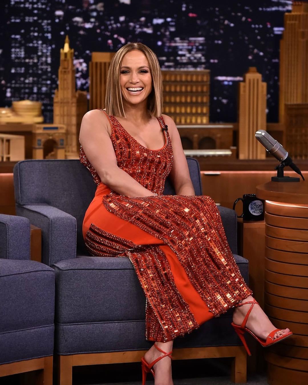 Wardrobe Breakdown: Jennifer Lopez On The Tonight Show Starring Jimmy Fallon