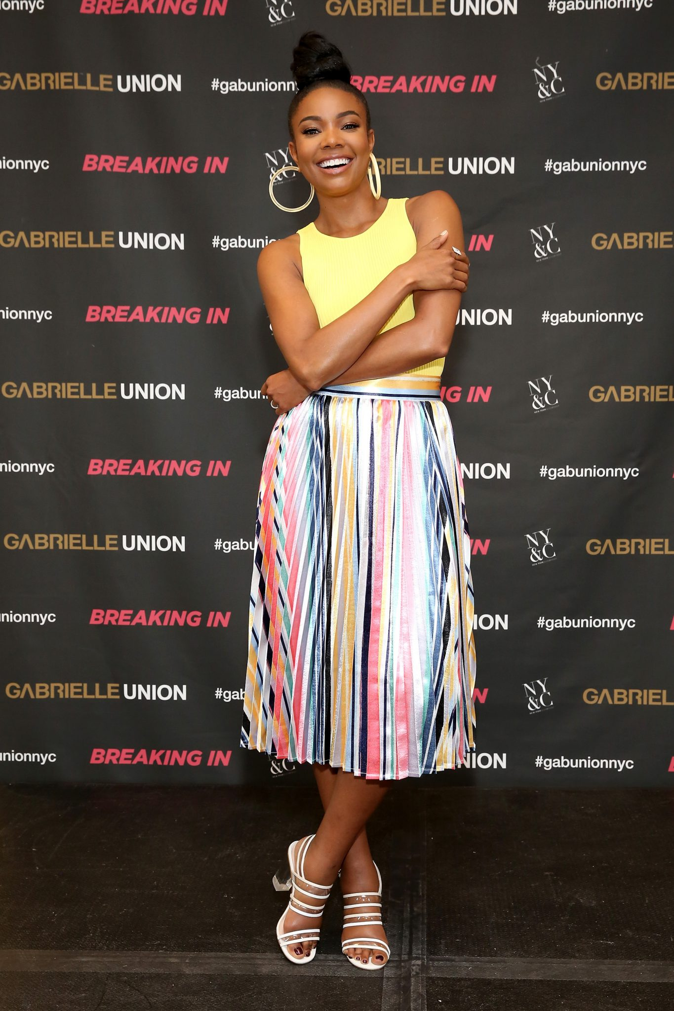 Gabrielle Union Celebrates New York & Company x Breaking In Partnership