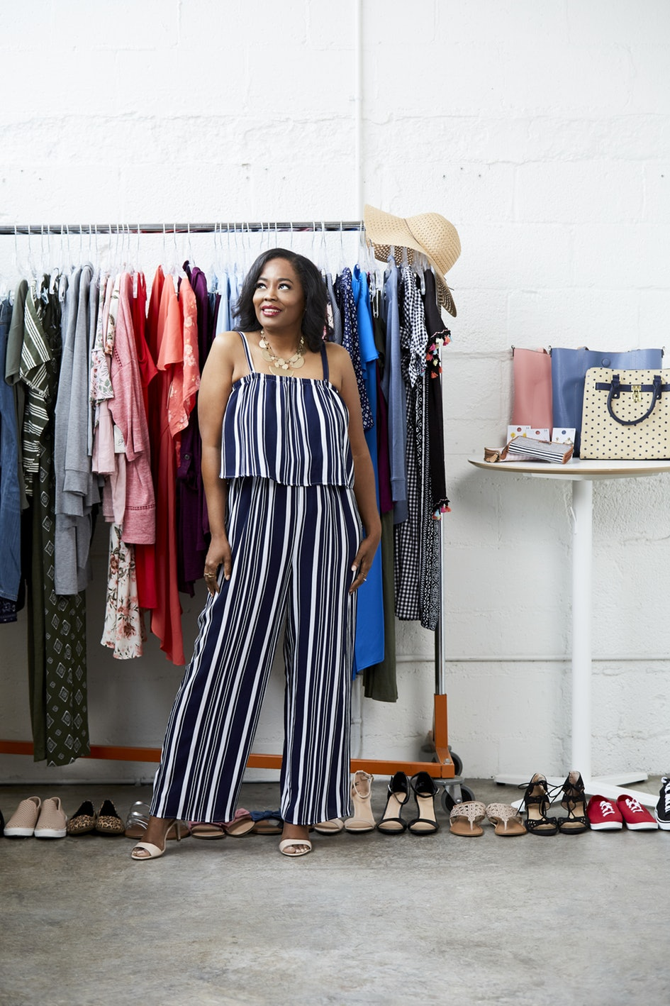 My Interview/Fashion Shoot With Bustle/The Style Squad Presented By Walmart