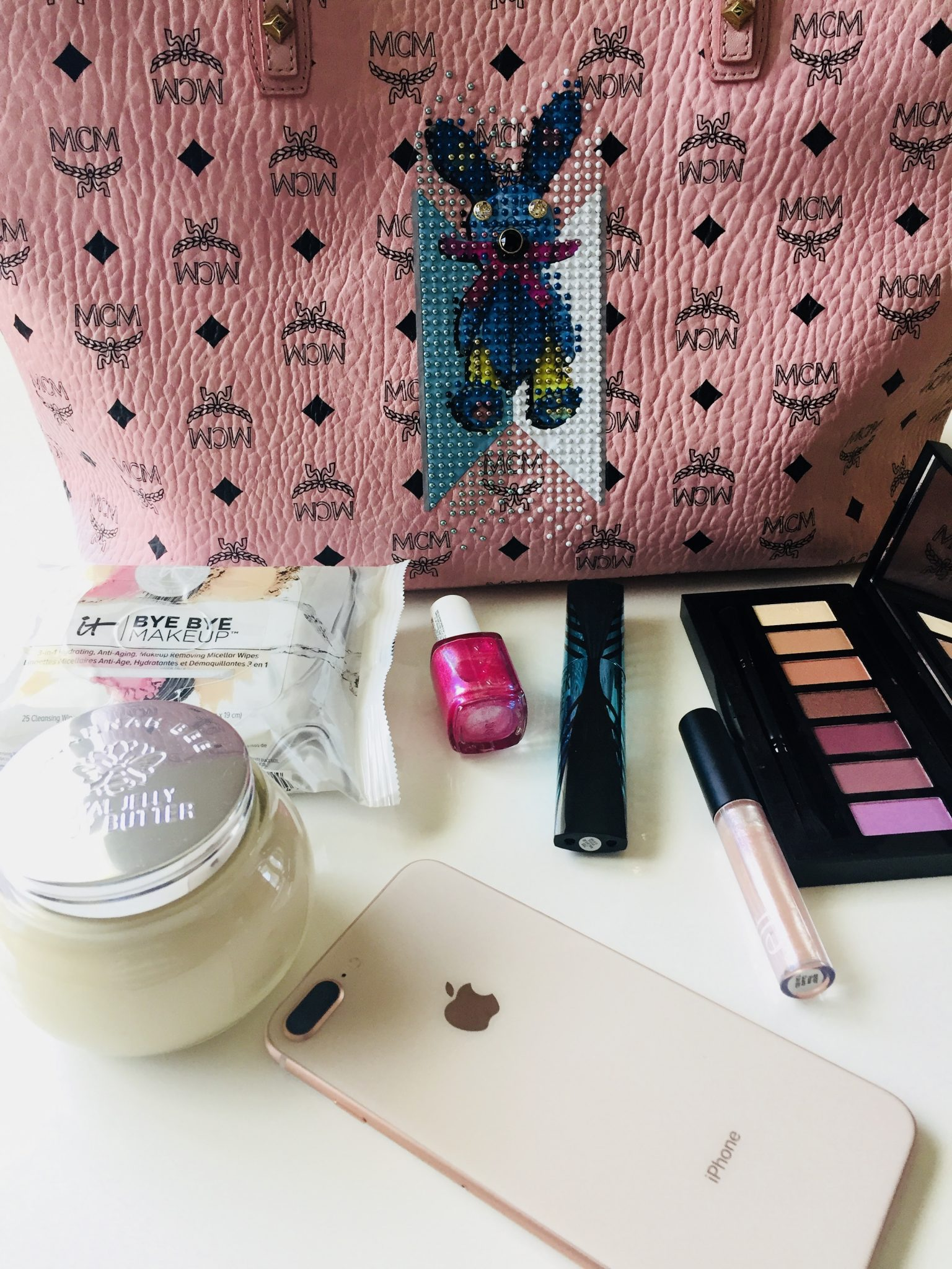 What's In My Bag: MCM Shopper In Studded Rabbit
