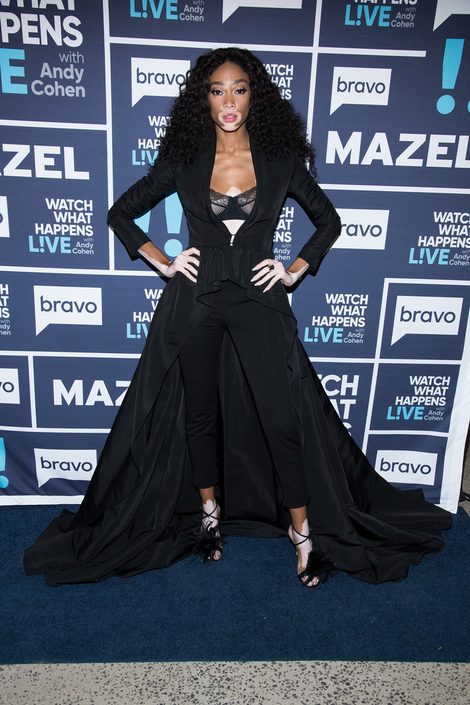 In Case You Missed It:  Supermodel Winnie Harlow On Watch What Happens Live With Andy Cohen