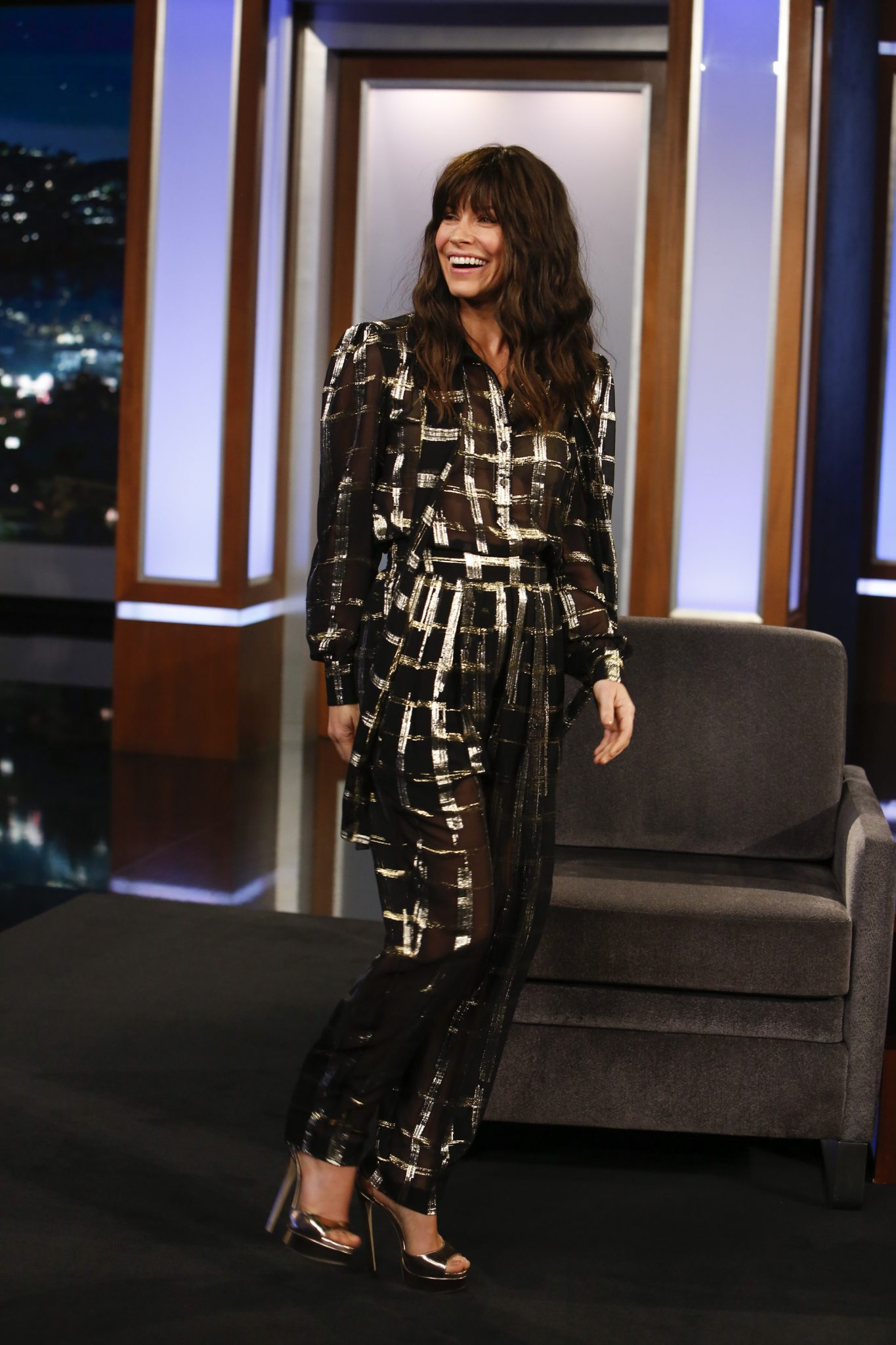 In Case You Missed It: Evangeline Lilly On Jimmy Kimmel Live